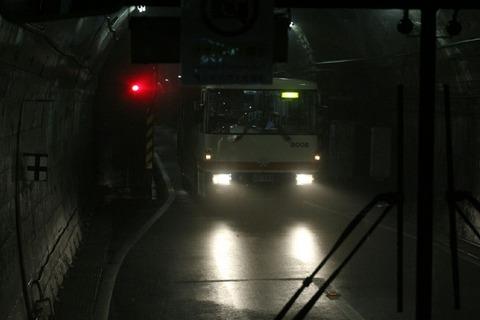 立山トンネルトロリーバス 立山黒部アルペンルート