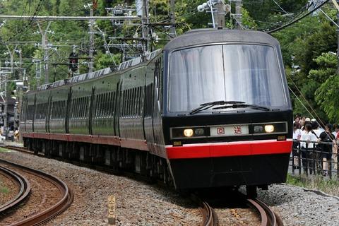 伊豆急 2100系 リゾート21 黒船電車 JR東日本 北鎌倉駅付近