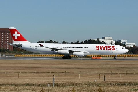 HB-JMA A340-300 SWR RJAA