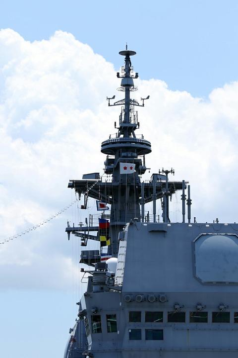 DDH-183 護衛艦 いずも 一般公開 横浜開港祭 横浜大桟橋