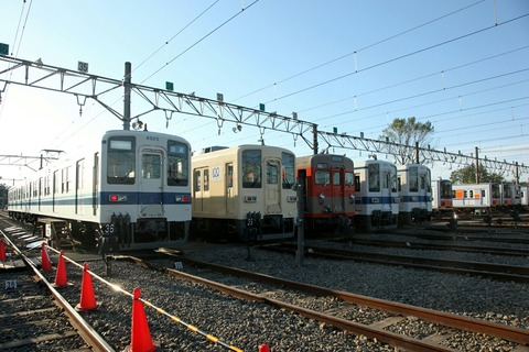 8000系 車両撮影会 東武東上線 森林公園ファミリーイベント