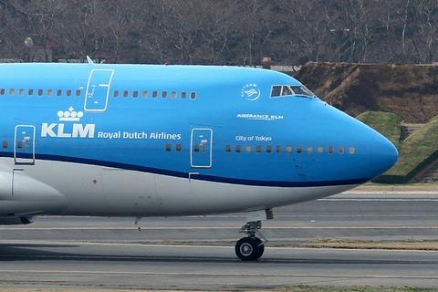 PH-BFT B747-400 KLM RJAA City of Tokyo