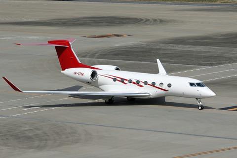 VP-CPM Gulfstream G650 RJTT