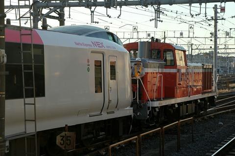DE10 1704 E259系 NEX 尾久駅