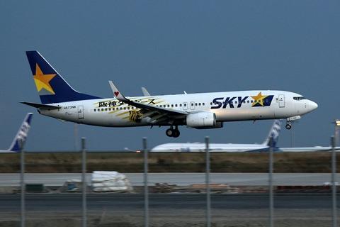 JA73NK B737-800 SKY Tigers Jet RJTT