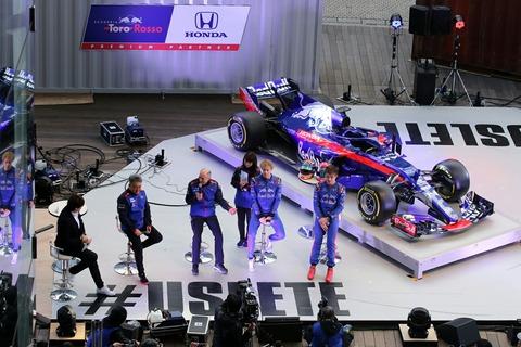 トークショー F1開幕前イベント 六本木ヒルズアリーナ