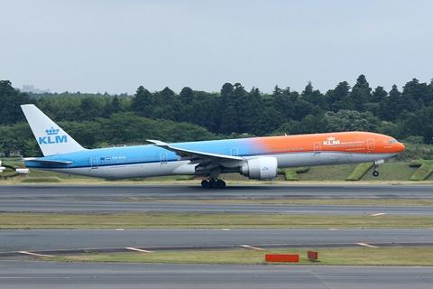 PH-BVA B777-300 KLM Orange Pride RJAA