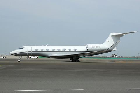 VP-CPG Gulfstream G650 RJTT