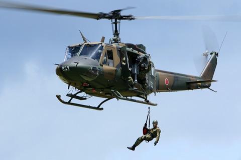 41832 UH-1J 陸上自衛隊 北宇都宮駐屯地 開設46周年記念行事