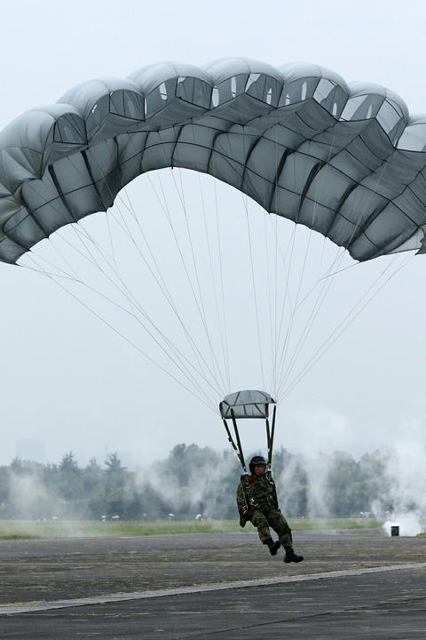 第1空挺団 空挺降下 立川防災航空祭 立川駐屯地