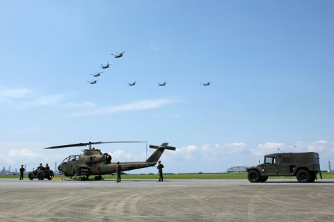 航空機支援車両紹介 編隊飛行 木更津航空祭 陸上自衛隊 木更津駐屯地