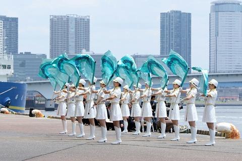 第69回 東京みなと祭 水の消防ページェント カラーガーズ隊