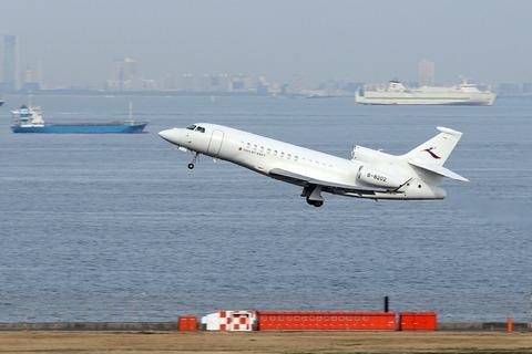 B-8202 Dassault Falcon 7X 首都航空 RJTT