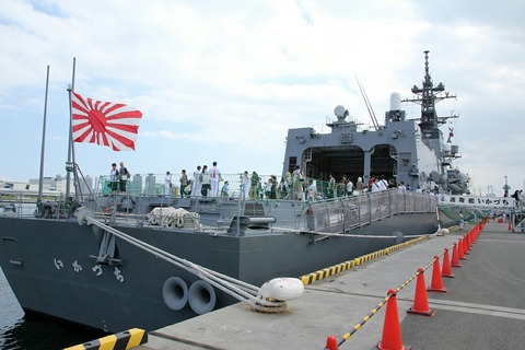 DD-107 護衛艦 いかづち 一般公開 第69回 東京みなと祭