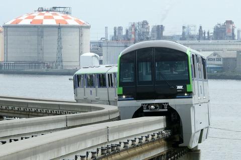東京モノレール 10000形 国際線ターミナル
