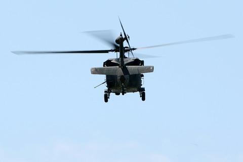 UH-60 訓練展示 第45回 木更津航空祭 陸上自衛隊 木更津駐屯地