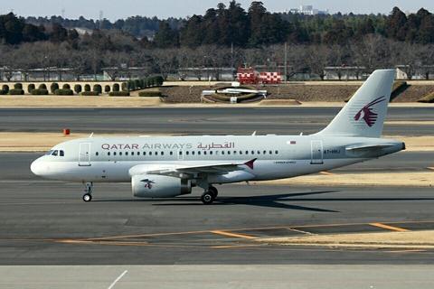 A7-HHJ A319CJ QAF RJTT V.I.P.Flight 2013.2.11
