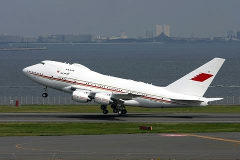 A9C-HAK B747-SP BAH RJTT V.I.P.Flight 2008.10.13