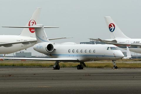 VP-CPY Gulfstream G550 RJTT