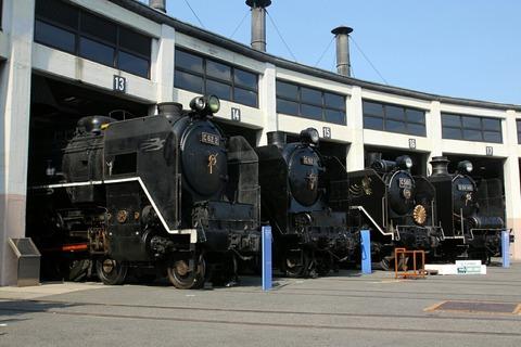 梅小路蒸気機関車館 扇形車庫
