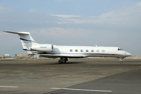 N888XS Gulfstream G550 RJTT