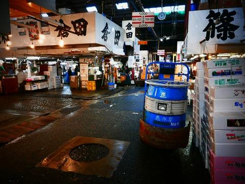 築地市場 東京都中央卸売市場 水産仲卸売場