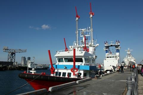 消防艇よこはま 横浜消防出初式