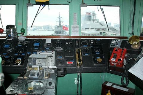 トルコ海軍 フリゲート艦 F495 TCGゲディズ 晴海埠頭 一般公開