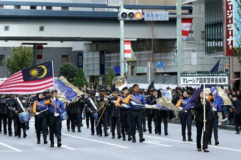 マレーシア国家警察音楽隊 世界のお巡りさんコンサート