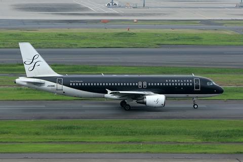 JA08MC A320-200 SFJ シン・ゴジラジェット RJTT