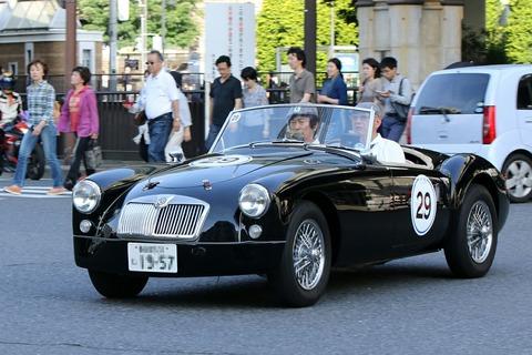 29 MG A 1957 RALLY YOKOHAMA 2017