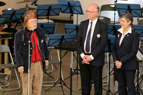 松本零士 フランス航空教育団来日100周年記念イベント