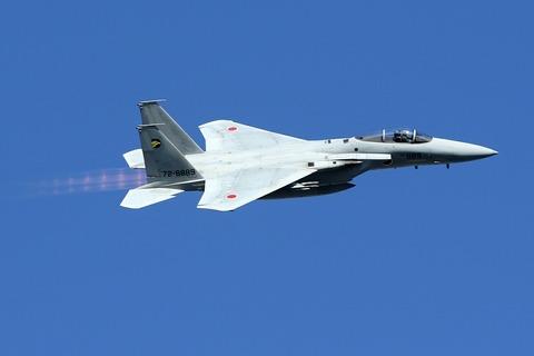 72-8889 F-15J 帰投 入間航空祭2017 航空自衛隊 入間基地