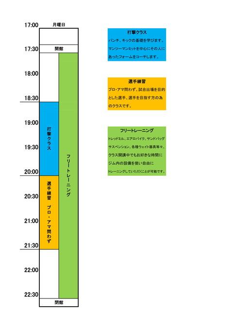 パンクラスイズム横浜月タイムスケジュール-1