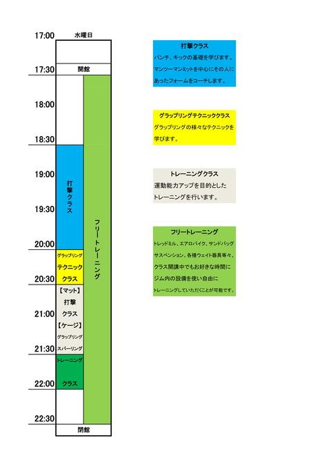 パンクラスイズム横浜水タイムスケジュール-1