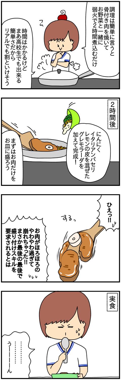 オッソブーコ②