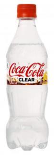 透明なコカ・コーラを発売