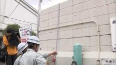 大阪北部地震 死者5人に ブロック塀が凶器に 緊急点検