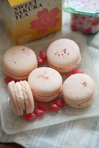 桜マカロン