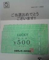 お買い物券3000円分