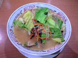 丸醤屋 イオン石巻店@野菜たっぷり味噌ラーメン