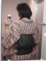 千鳥格子×夏喪帯3