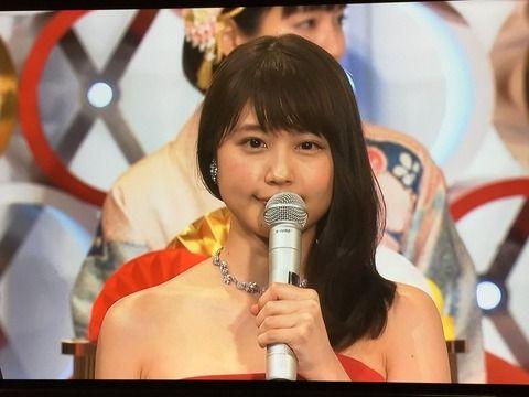 【エッッ】有村架純さん、紅白でアレを披露wwwwww(動画・画像あり)