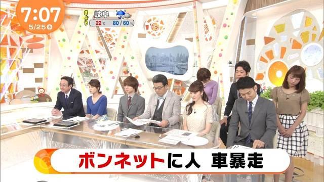 岡副麻希と宮司愛海が居眠り?めざましテレビで放送事故?