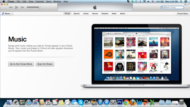 how to add music from mac mini to itunes