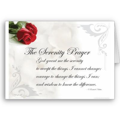 の 祈り ニーバー