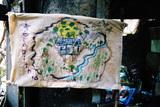 テラビシアの地図
