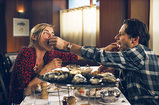 恋人と生牡蠣