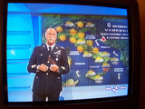 TVの天気予報