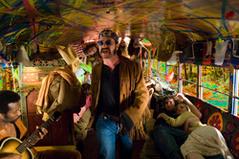 バスの中で歌う